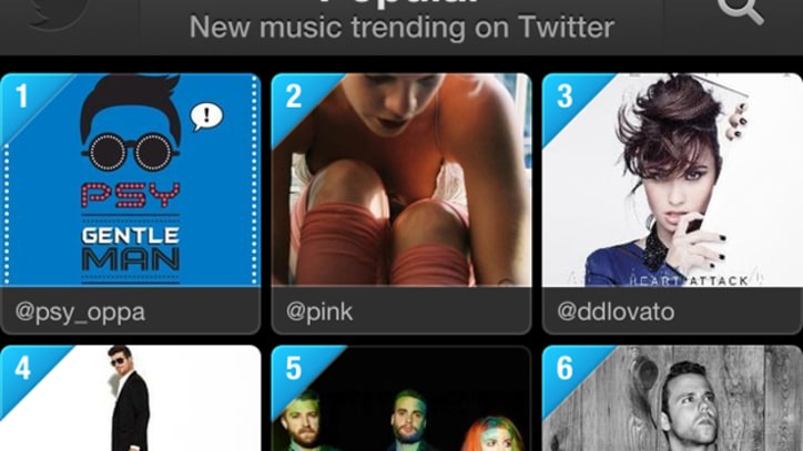 Twitter #Music App Is Splashy, Fun and a Work in Progress