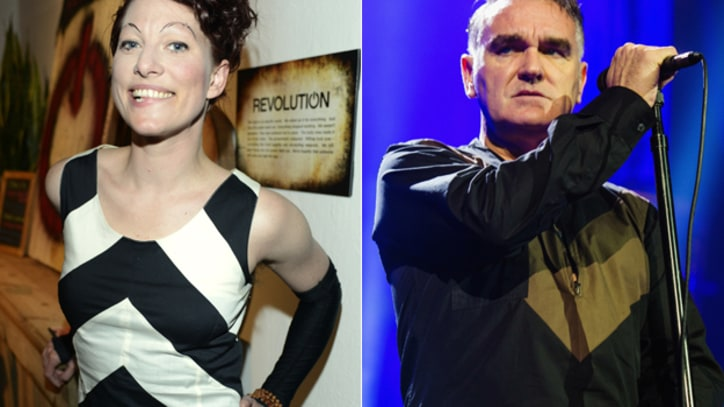Amanda Palmer Suggests Morrissey Try Kickstarter