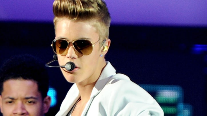 Justin Bieber Tackled by Fan Onstage in Dubai