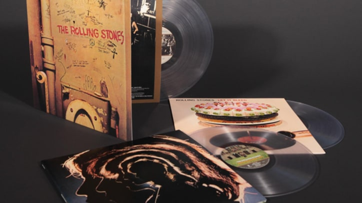Rolling Stones to Reissue Three Albums on Clear Vinyl