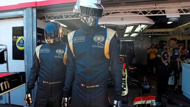 Daft Punk Attend Monaco Grand Prix to Support Their Own Racecar