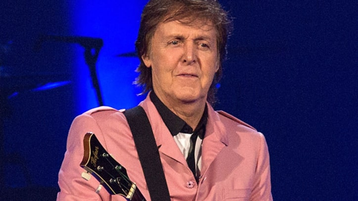 Paul McCartney Leaves Guitar Pick at Elvis Presley's Grave