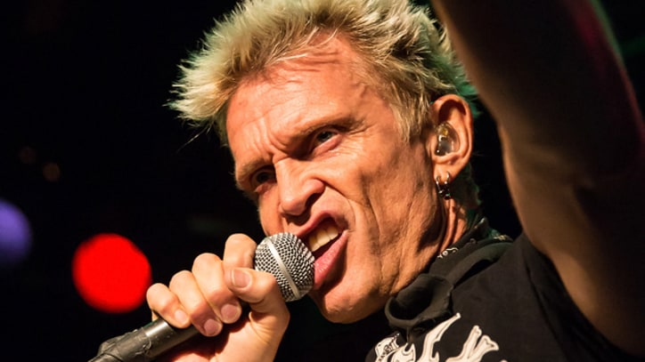 Billy Idol Promises 'Party Set' at Bonnaroo