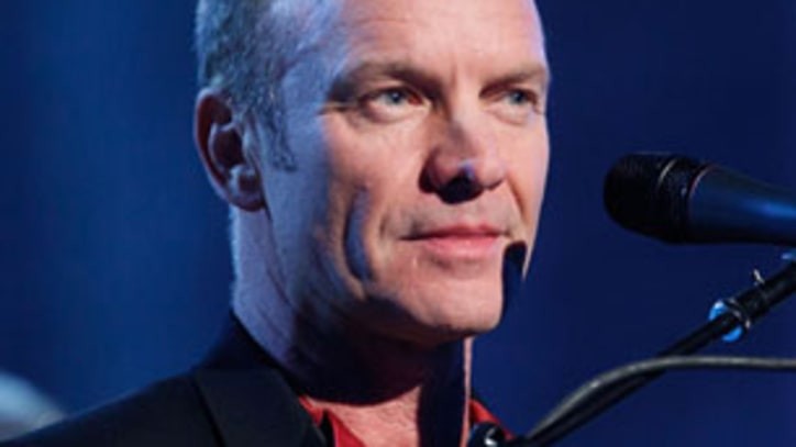 Sting, Sinead O' Connor and Robert Downey Jr to Appear on New Charity Album