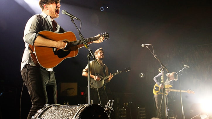 Mumford & Sons Come Alive Backstage in Brooklyn