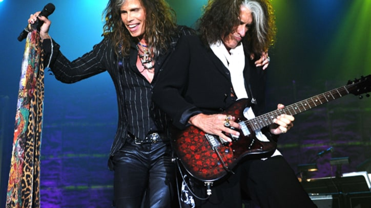 Steven Tyler, Joe Perry Inducted Into Songwriters Hall of Fame