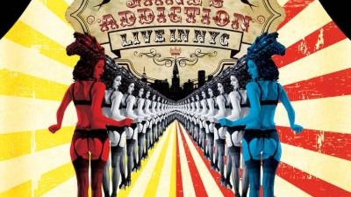 Jane's Addiction Go 'Live in NYC' - Album Premiere