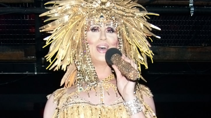 Cher Charms in New York With Early Stop During Pride Week