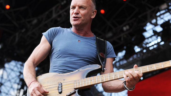 Sting Plans Intimate New York Concerts to Benefit Arts Organization