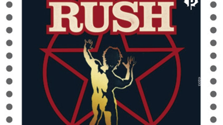 Rush Featured on New Canadian Stamp