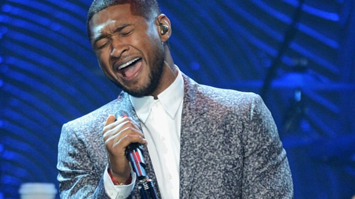 Usher Thanks 'True Heroes' Who Rescued Son From Pool