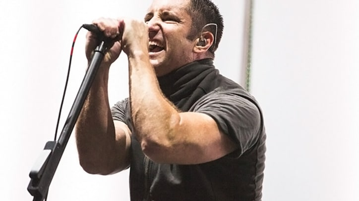 Nine Inch Nails Rock Outside Lands