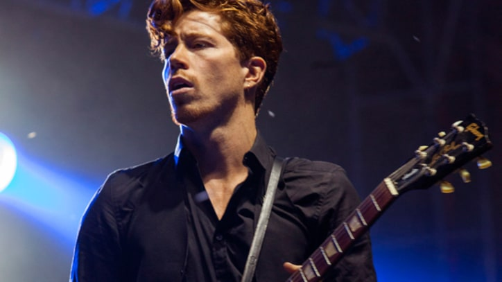Shaun White on His New Band, Bad Things: 'I Drop Everything' for Them