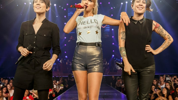 Taylor Swift Brings Out Tegan and Sara in L.A.
