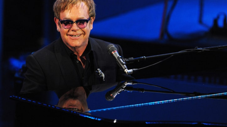 Elton John Receives First Brits Icon Award
