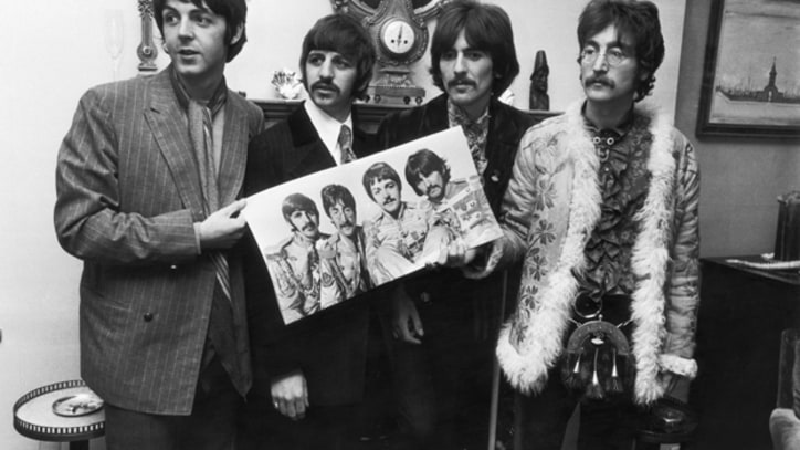 Beatles' 'Sgt. Pepper' LP Finally Goes Platinum in Britain