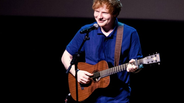 Ed Sheeran Joins Passenger for Covers at Nashville Club Gig