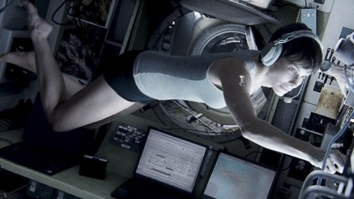 Sandra Bullock: Shooting 'Gravity' Was 'Frustrating, Painful'