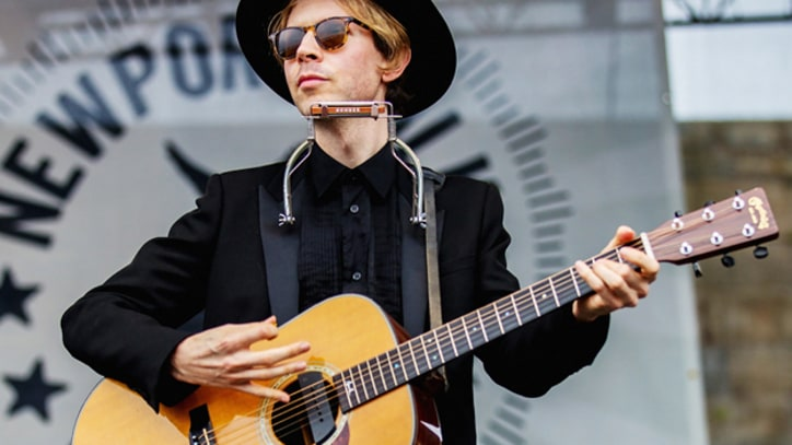 Beck Breaks Out the Xylophone on 'Gimme'
