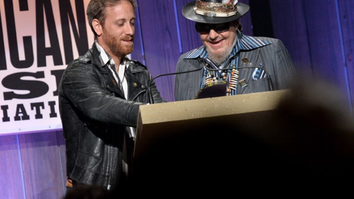 Dr. John Jams With Dan Auerbach at Americana Awards