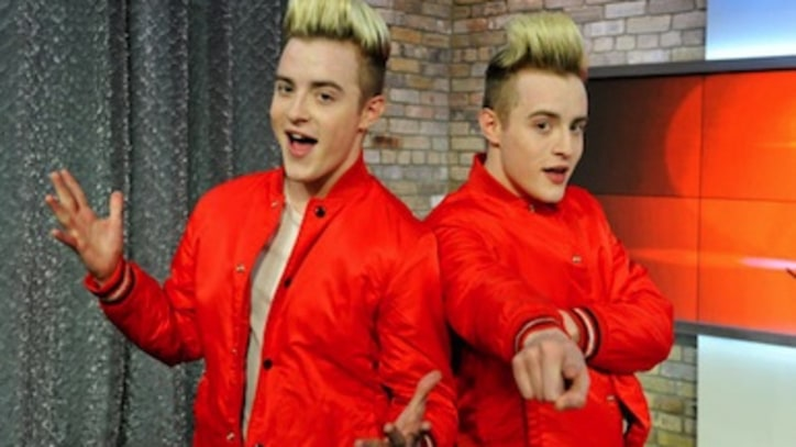 Watch: Jedward's Big Adventurous Interview!
