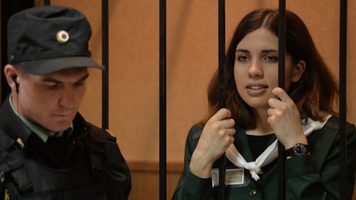 Jailed Pussy Riot Member Launches Fight for Prisoners' Rights