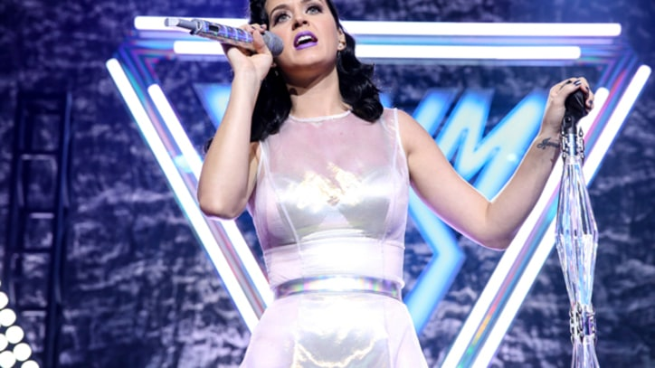Katy Perry Celebrates 'Prism' With Intimate Performance