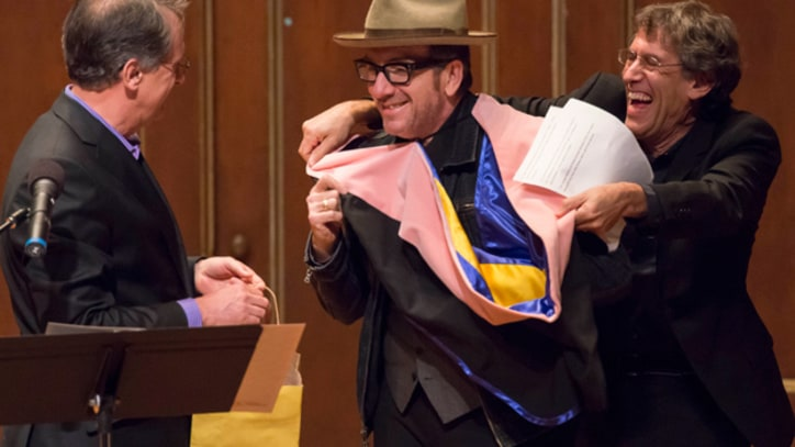 Elvis Costello Named Honorary Doctor of Music