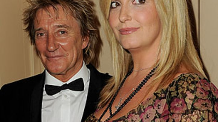 Rod Stewart Welcomes His Eighth Child
