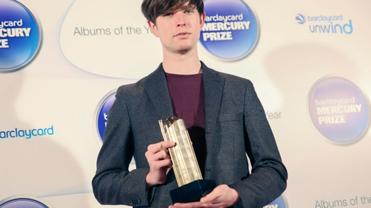 James Blake Wins the 2013 Mercury Prize