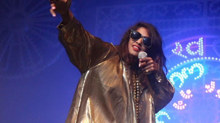 M.I.A. Resumes Documentary, Calls Middle-Finger Gesture 'Spiritual'
