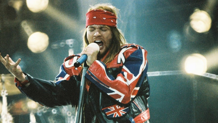 Axl Rose's Ex-Wife Selling Love Letters and Wedding Video