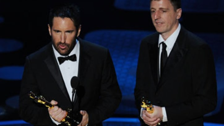 Trent Reznor Wins Oscar for 'The Social Network'