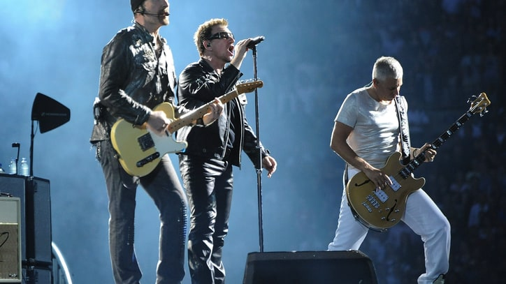 U2 Play Surprise Show for Haiti Benefit