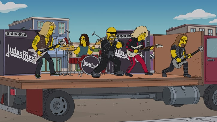 Bart Simpson Apologizes for Calling Judas Priest 'Death Metal'