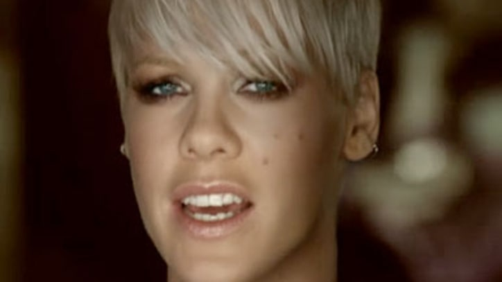 Pink's Shocking Video For 'F**ckin' Perfect'