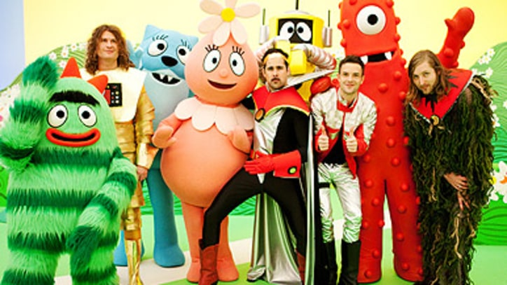 The Killers Get Sci-Fi and Silly on 'Yo Gabba Gabba'