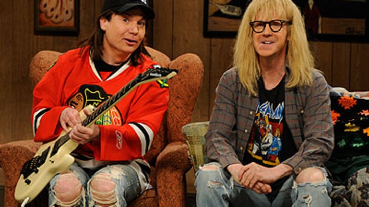 Wayne and Garth Joke About the Oscars on 'Saturday Night Live'