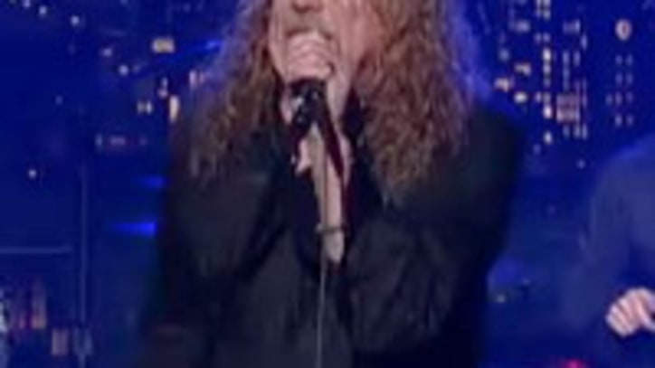 Robert Plant and the Band of Joy Cover Richard and Linda Thompson on Letterman