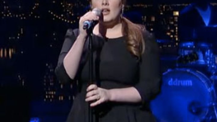 Adele Impresses David Letterman With a Stunning Version of 'Rolling in the Deep'