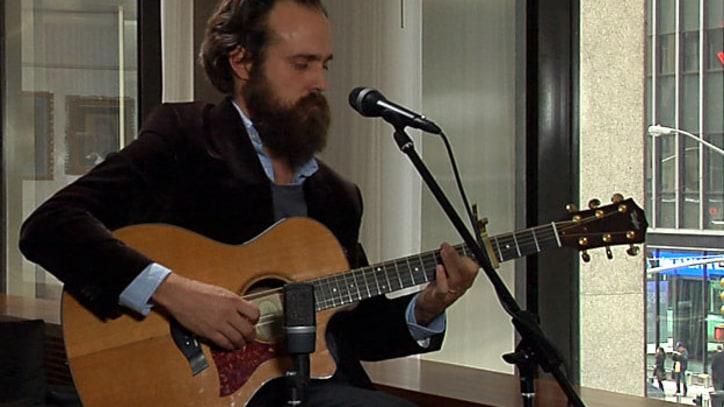 Rolling Stone Live: Iron and Wine's Sam Beam Plays Acoustic Versions of Three New Songs