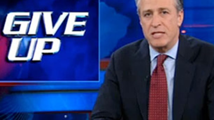 Video: Jon Stewart Slams GE: They Pay No Tax, So... Give Em a Tax Break!