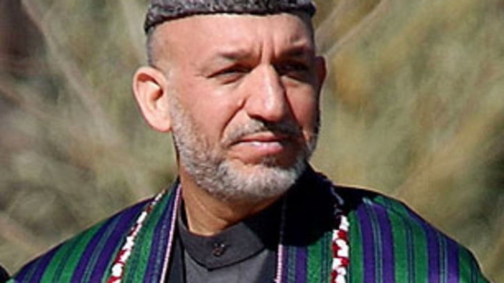 President Hamid Karzai Condemns 'Kill Team' War Crimes