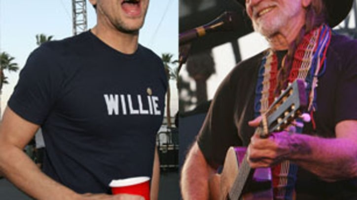 Willie Nelson Teams Up With 'Jackass' Guys