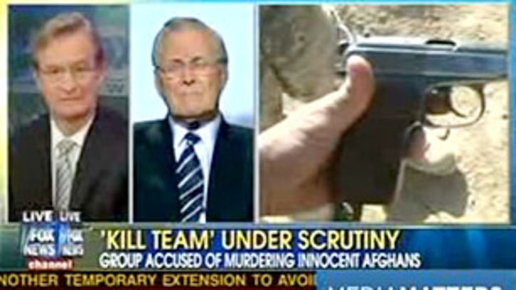 VIDEO: Kill Team: Donald Rumsfeld's 'Worse Than Abu Ghraib' Tour
