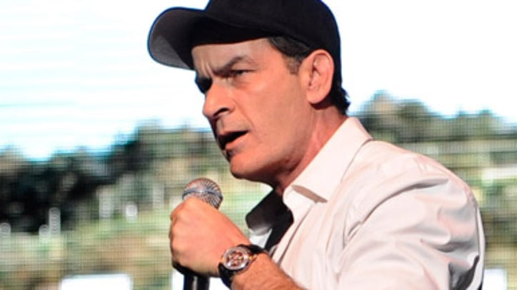 Charlie Sheen Rallies on Second Night in NYC