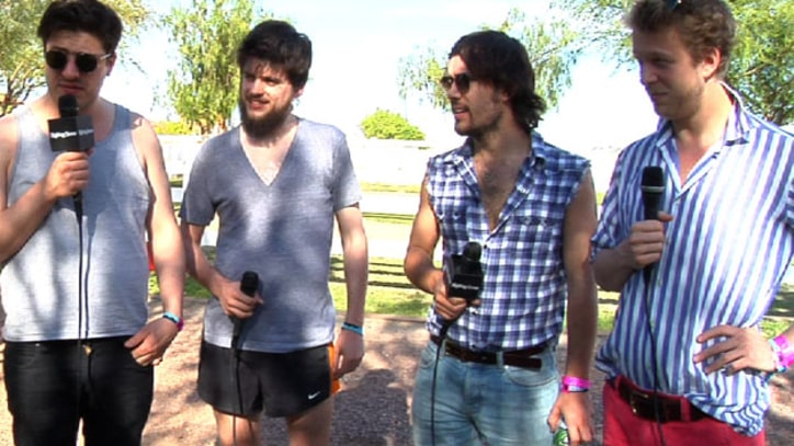 Video: Mumford & Sons Feel Humbled Before the Biggest Show of Their Career