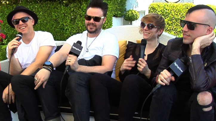 Coachella 2011: Neon Trees Talk About Wanting to Always Sound Like Neon Trees