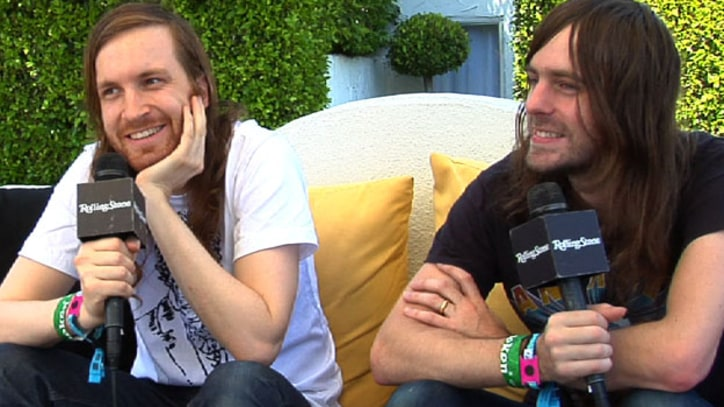 Video: Ratatat Talk Up 'Aggressive' Guitar-Driven New LP Backstage at Coachella