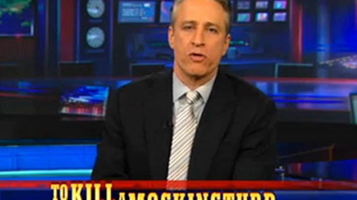 Video: Jon Stewart: Pakistan 'Could Have Caught Osama With a Rod and Reel'